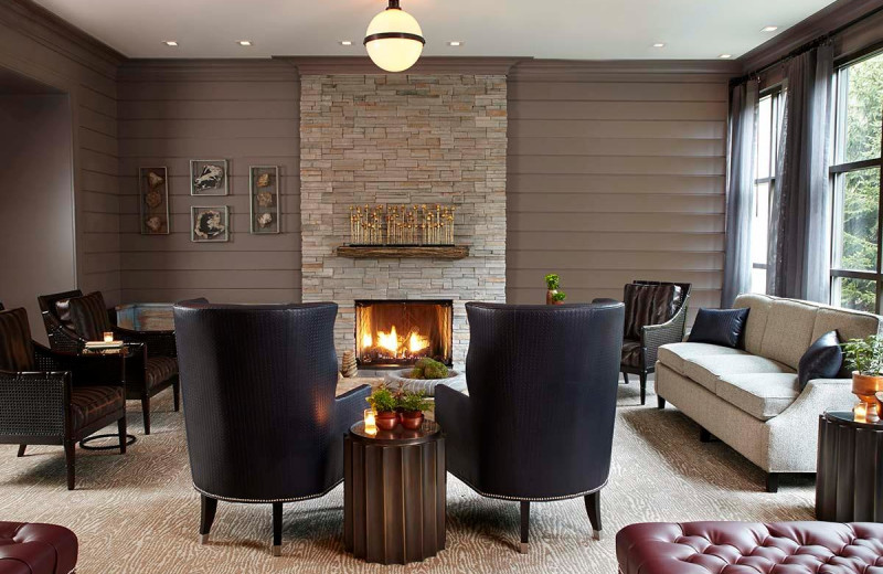 Lounge at The Lodge at Woodloch.
