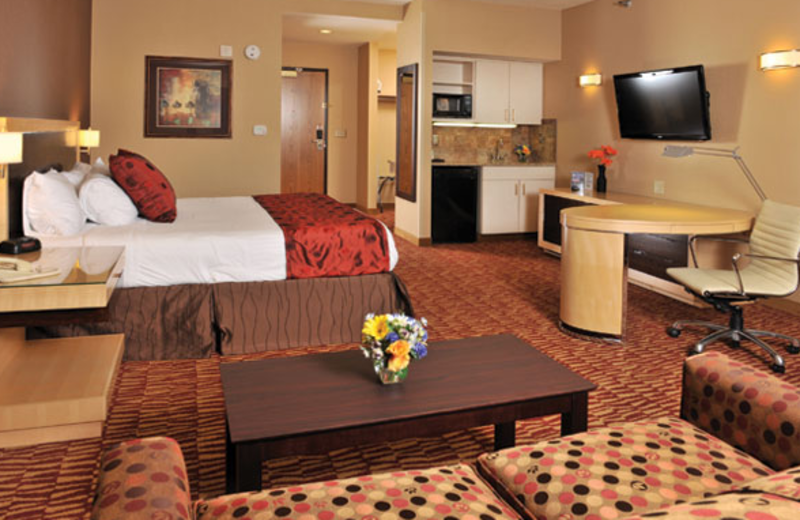 King Suite at  Lakeside Hotel Casino
