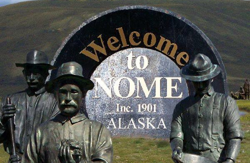 Welcome to Nome Alaska at AkAu Alaska Gold & Resort.