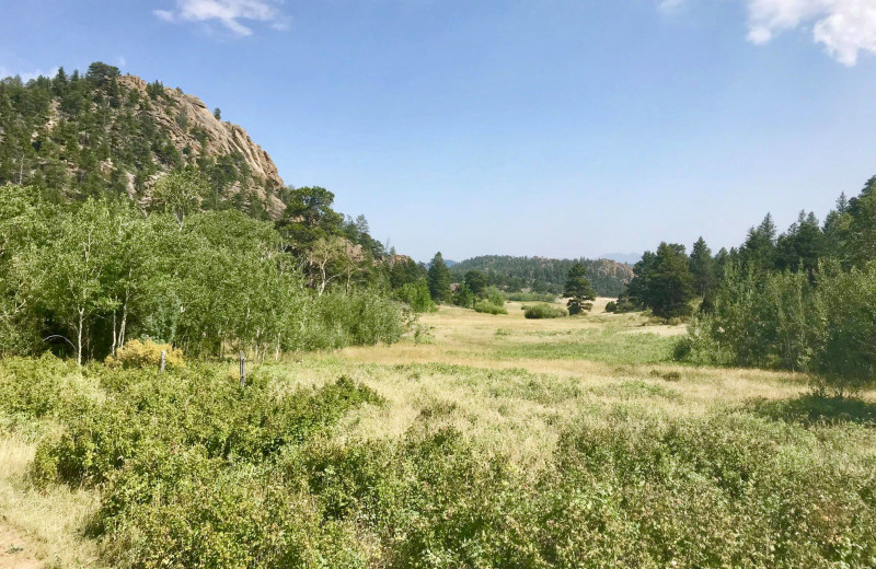 Scenic view at Sundance Trail Guest Ranch.