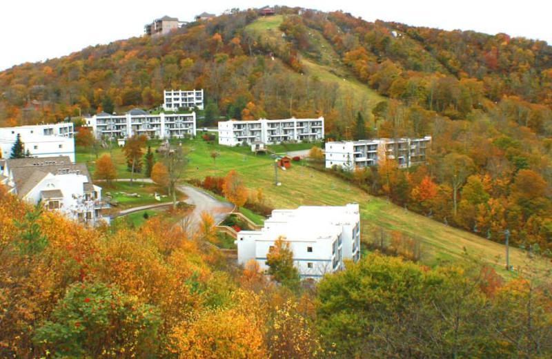 Fall at the Sugar Ski and Country Club.