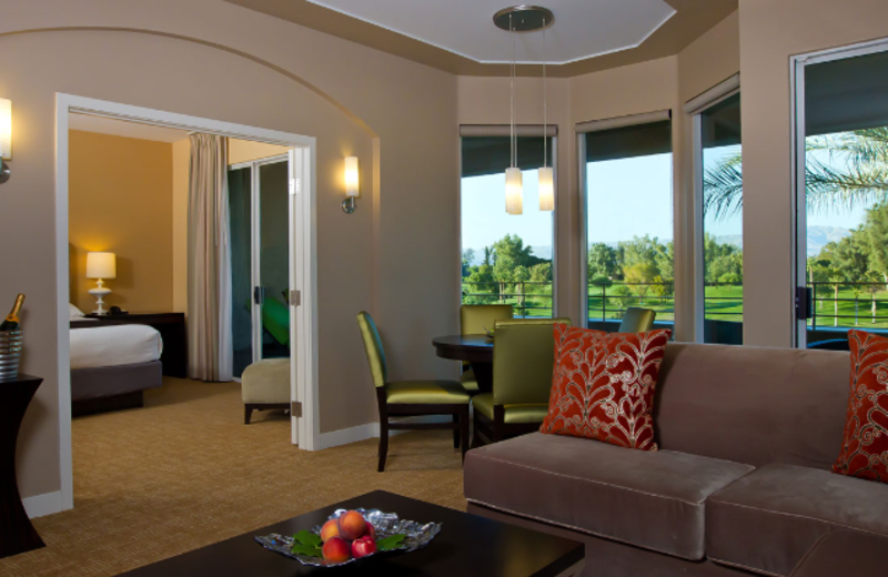 Penthouse suite at Hyatt Grand Champions Resort & Spa.