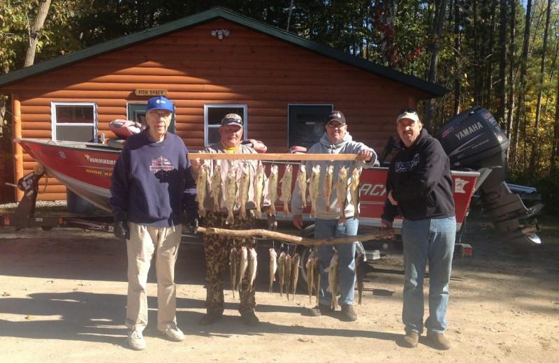 Fishing at Lakewood Lodge.