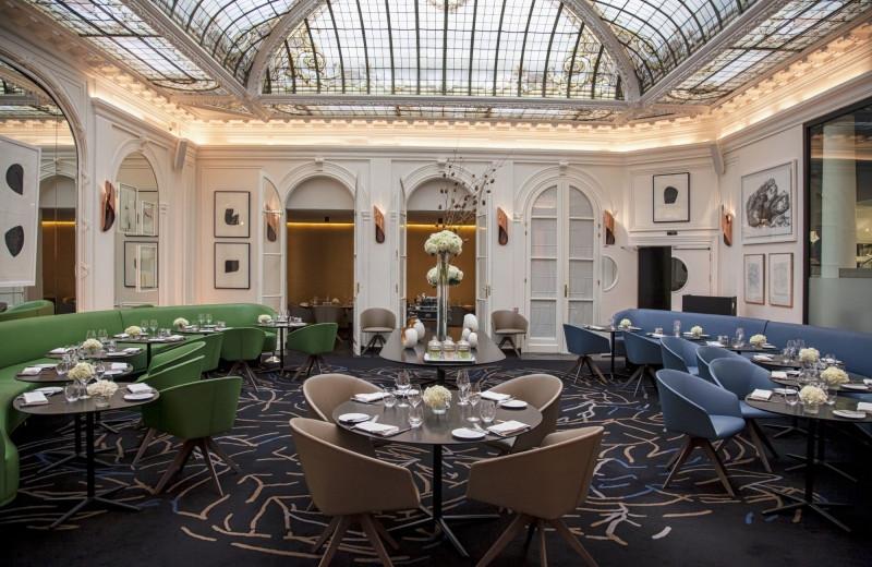 Dining at Hotel Vernet.