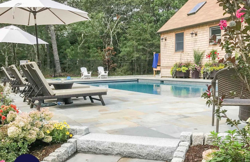 Rental pool at Sandpiper Rentals.