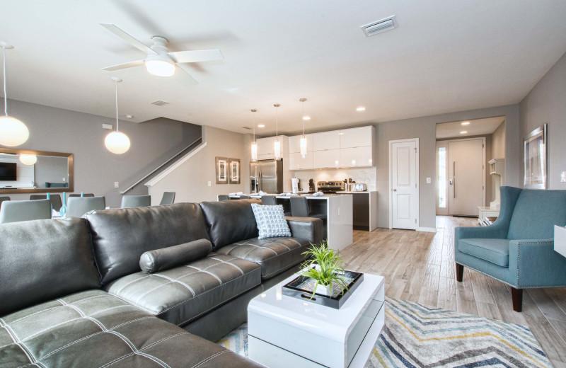 Rental interior at Vacation Pool Homes.