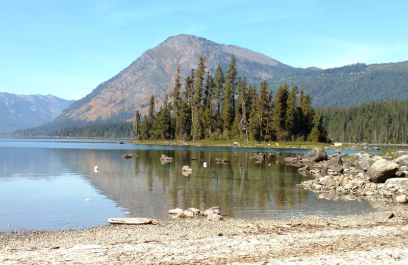 Beach at Lake Wenatchee