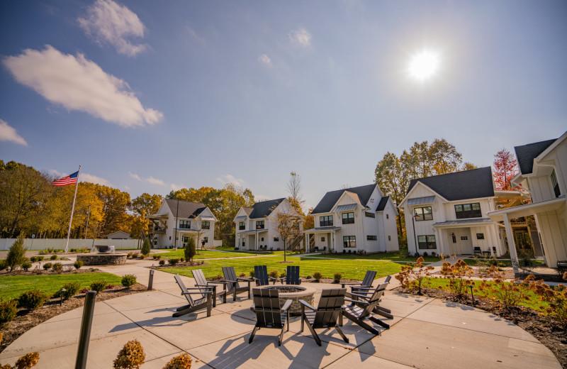 Cottages at Bay Pointe Inn Lakefront Resort.