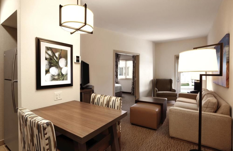 Guest room at Homewood Suites by Hilton Tucson/St. Philip's Plaza University.