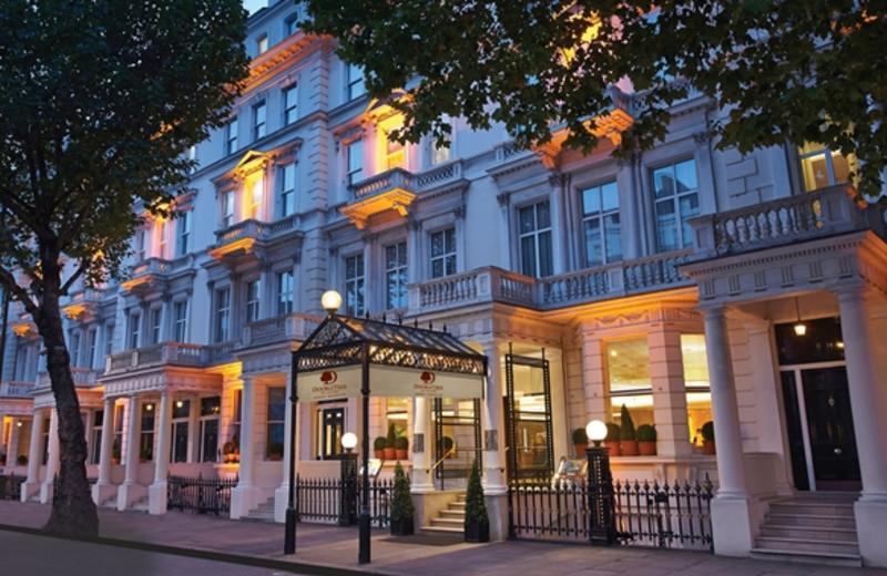 Exterior view of Regency Hotel.