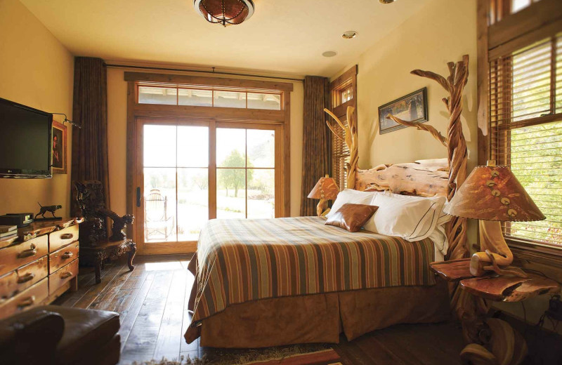Guest bedroom at Branded Rock Canyon.