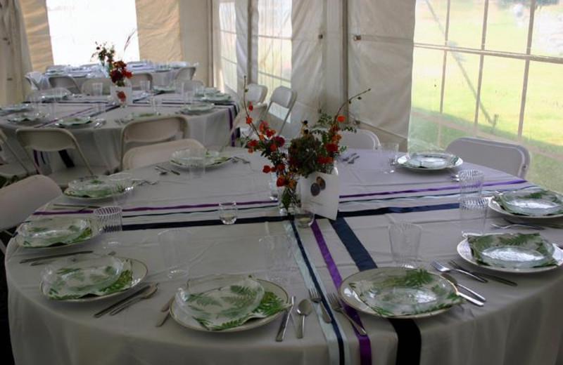 Weddings at Twin Pines Resort.