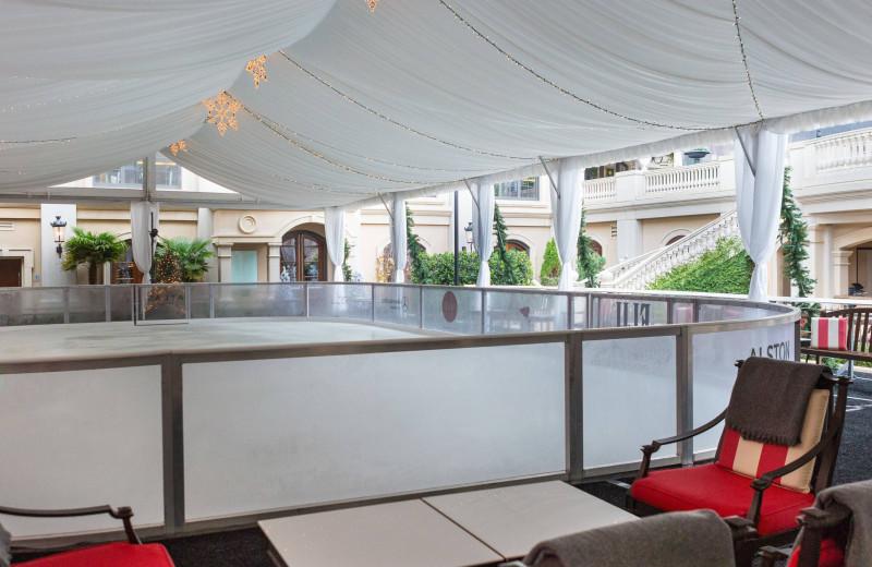 Ice rink at The St. Regis Atlanta.