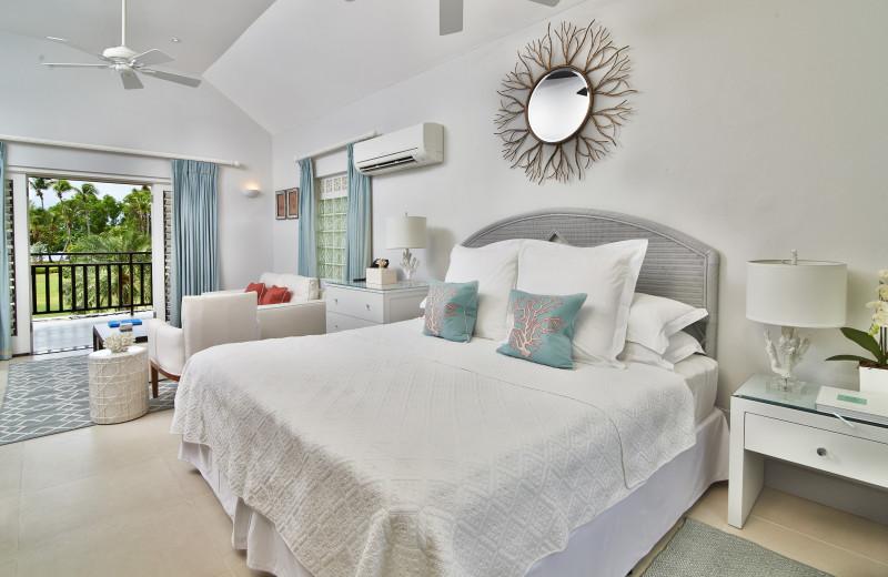 Guest room at Calabash Hotel.