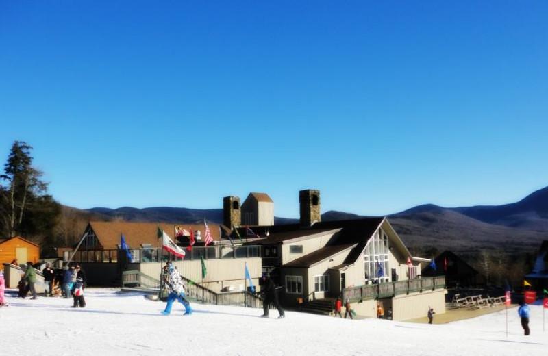 Skiing at Black Bear Lodge.
