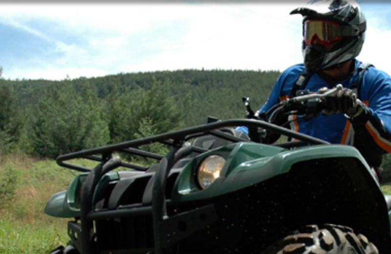 ATV and 4 Wheeling at  Fox Hollow Lodge