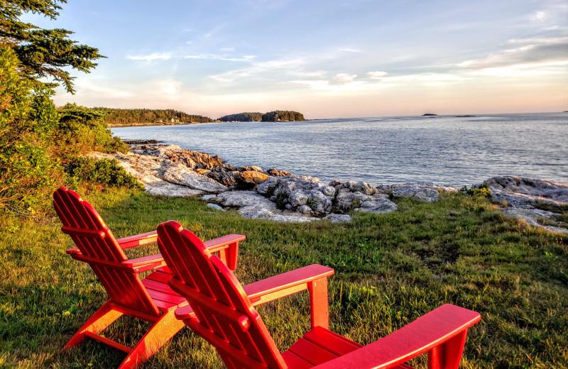 Scenic view at Sebasco Harbor Resort.