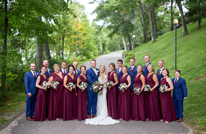 Weddings at Cragun's Resort and Hotel on Gull Lake.