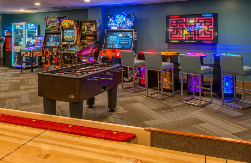 Arcade at Grand Colorado on Peak 8.