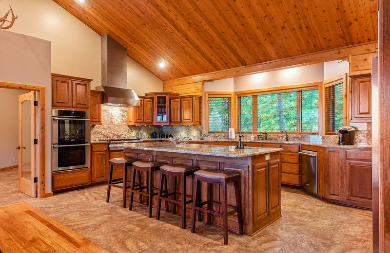 Kitchen at The White River Inn.