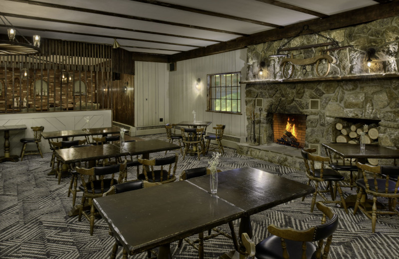 Dining at Roaring Brook Ranch Resort & Conference Center.