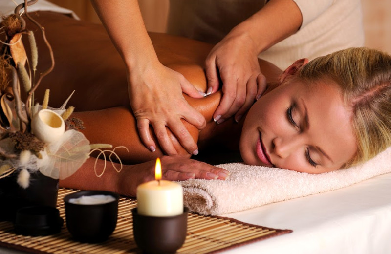 Spa services at Summit Vacations.
