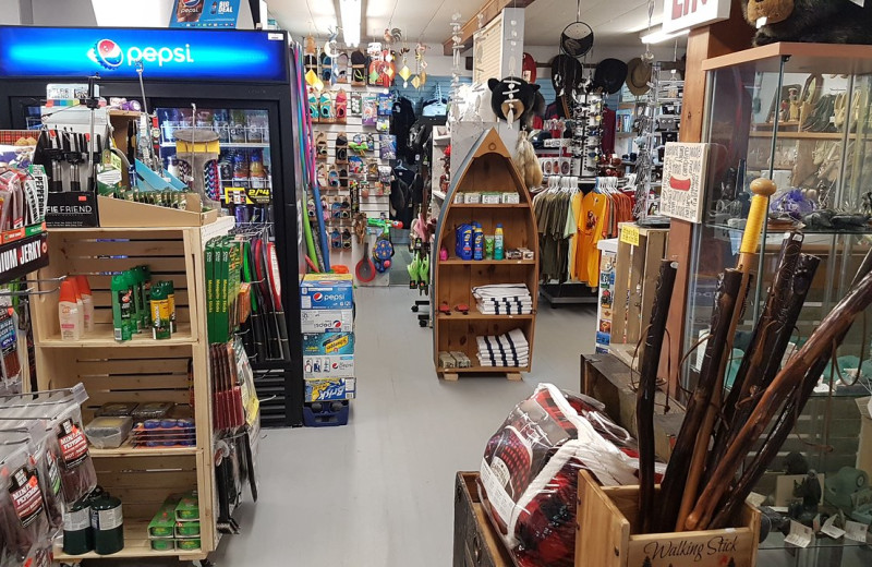 Shop at Parkway Cottage Resort & Trading Post.