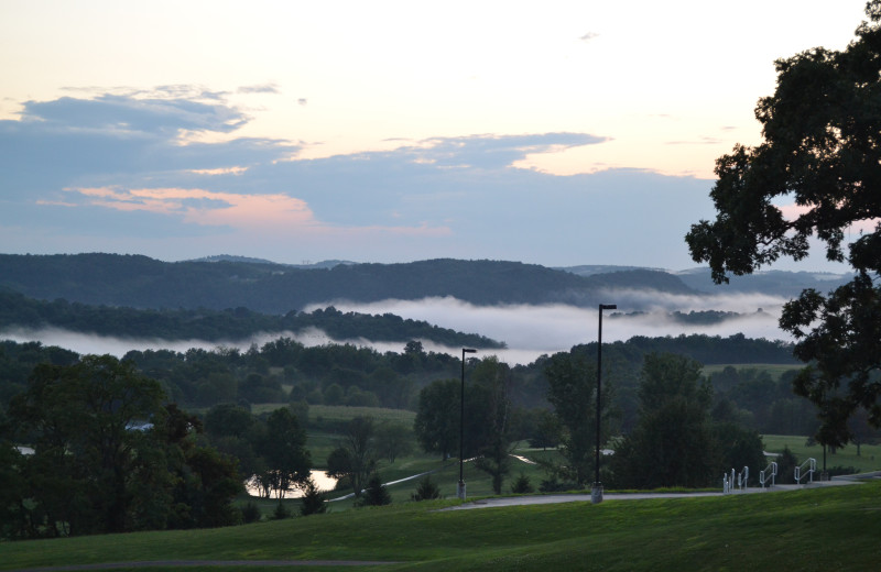 Scenic view at Lenape Heights Golf Resort.