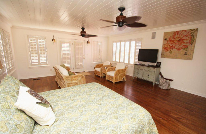 Rental bedroom at Crye-Leike Coastal Realty Vacation Rentals.