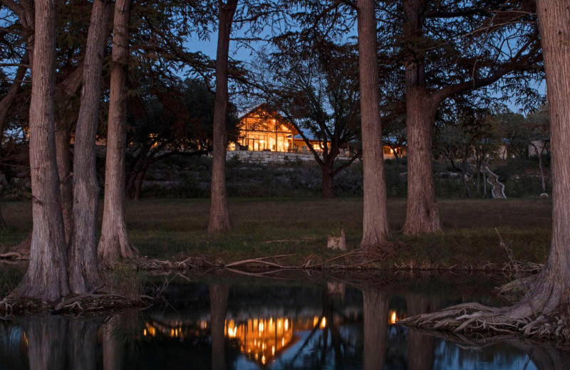 Exterior view of Joshua Creek Ranch.