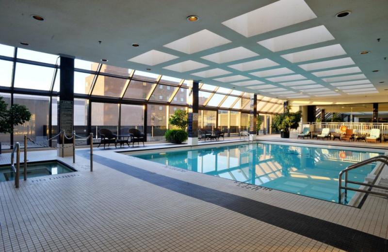 Indoor Pool at Hilton London Ontario
