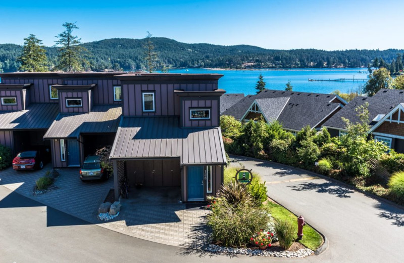Exterior view of Sooke Harbour Resort