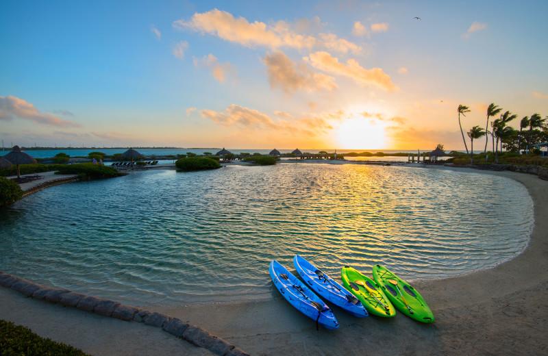 kayaking at Hawks Cay Resort.