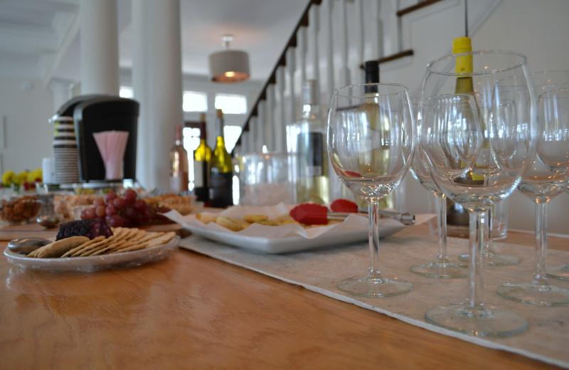 Dining at The Inn at Bald Head Island.