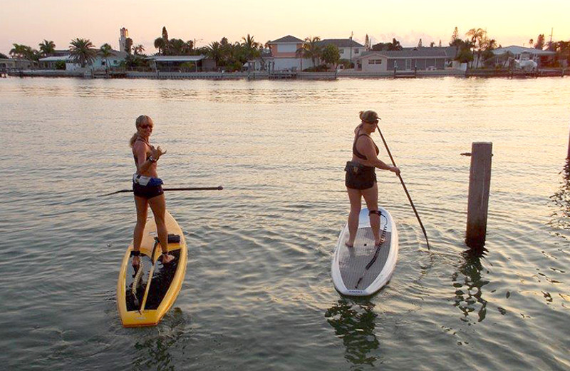Paddle board at The Delacado on Sunset Beach.