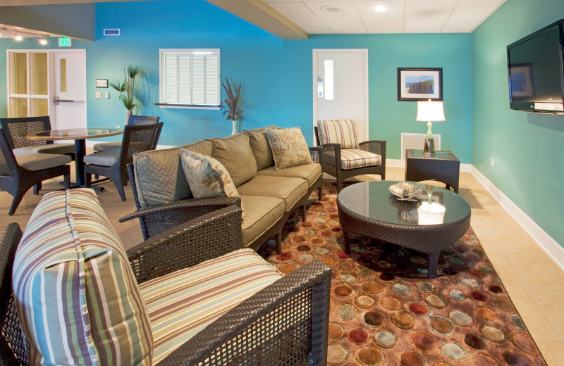 Villa living room at Holiday Inn Club Vacations South Beach Resort.