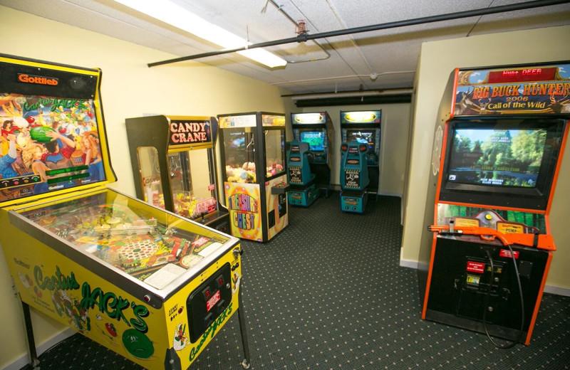 Arcade at Black Bear Lodge.