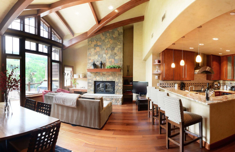 Penthouse at Manor Vail Lodge.
