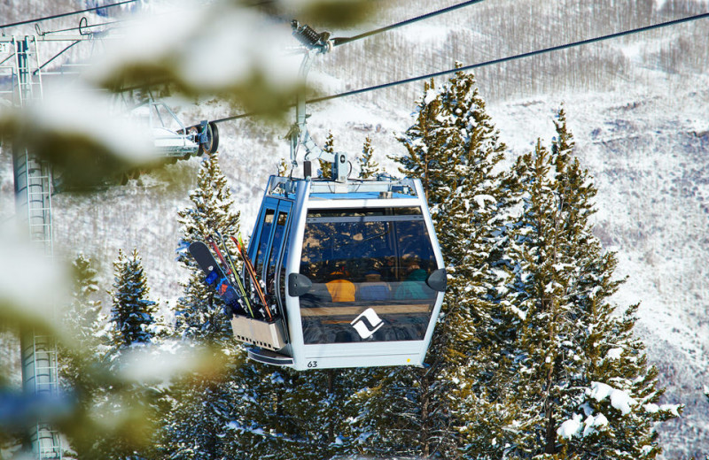 Gondola at Vail Mountain Lodge & Spa.