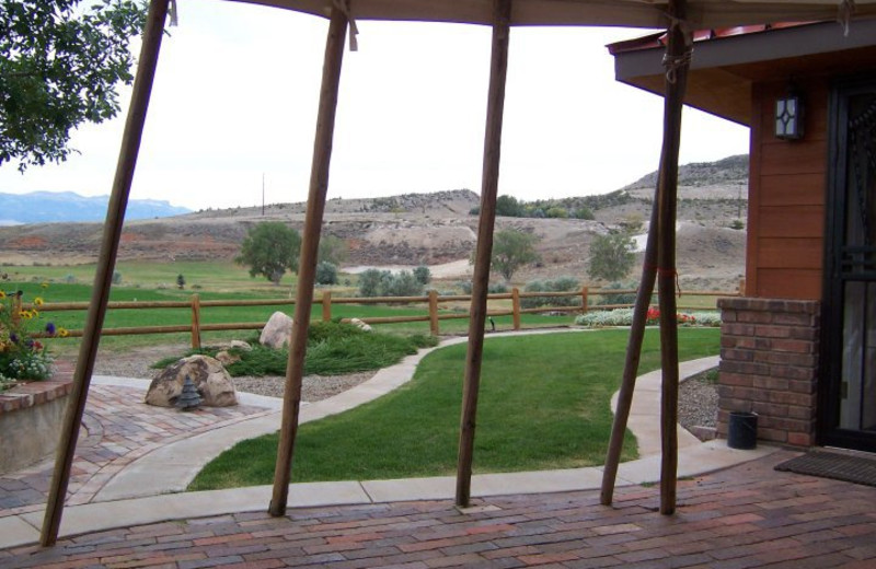 View from K3 Guest Ranch.