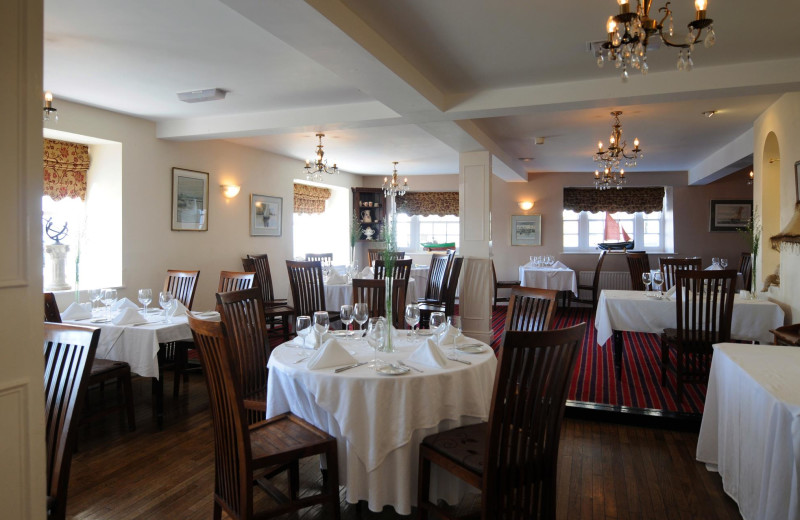 Dining at Portaferry Hotel.