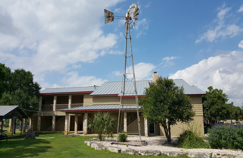 Exterior view of Flying L Hill Country Resort & Conference Center.