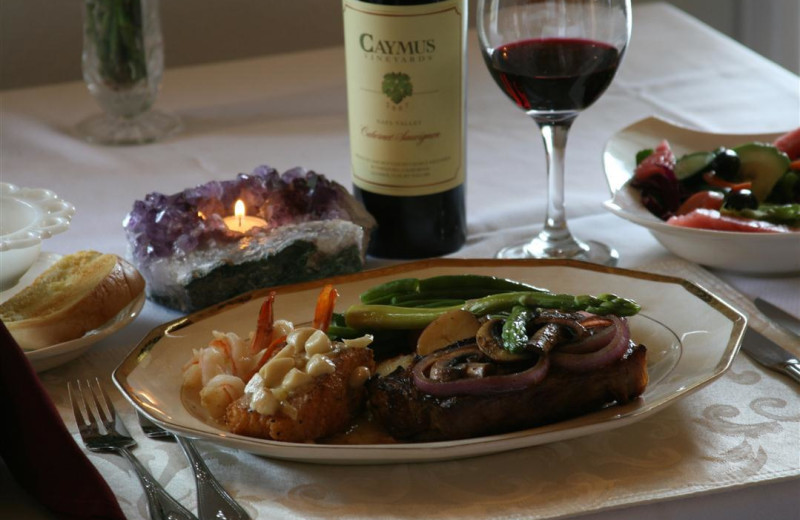 Dining at Echo Canyon Spa Resort.