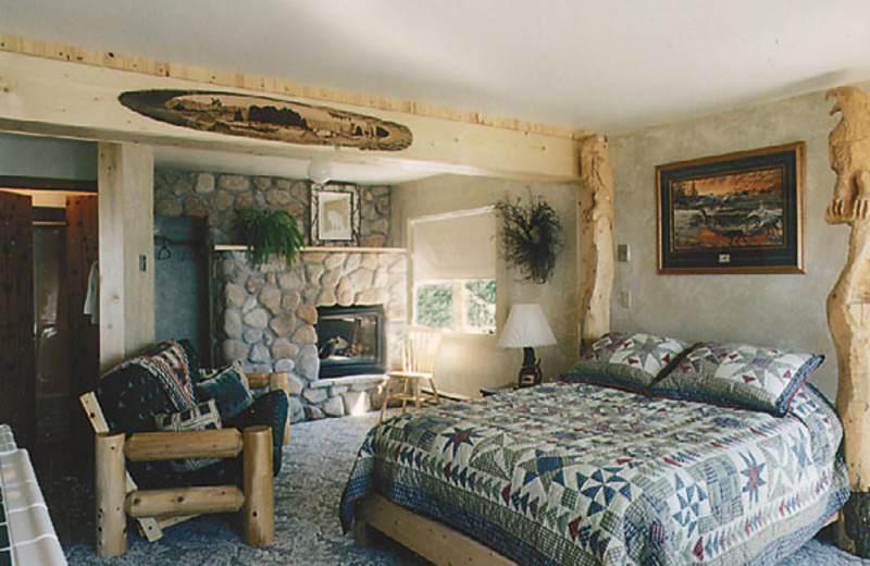 Guest room at The Inn on Gitche Gumee.