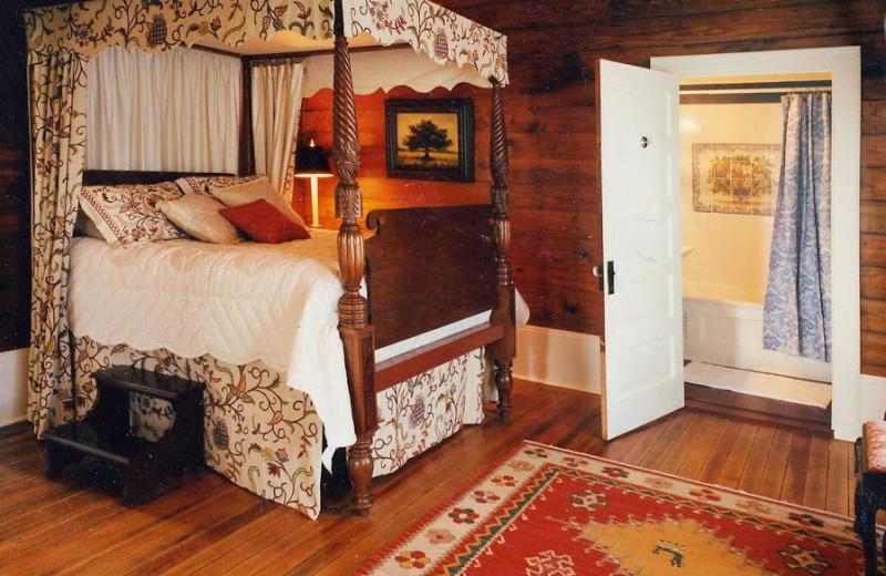 Guest room at Texas Ranch Life.