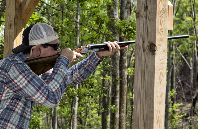 The best in outdoor fun is available at the Chetola Sporting Reserve, featuring 13 rotation stands and a 5 Box Shooting Stand. It's just like golf, but a whole lot more fun.