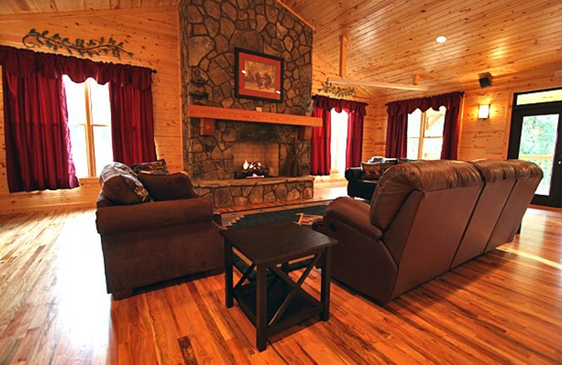 Event lodge interior at Sautee Resorts.