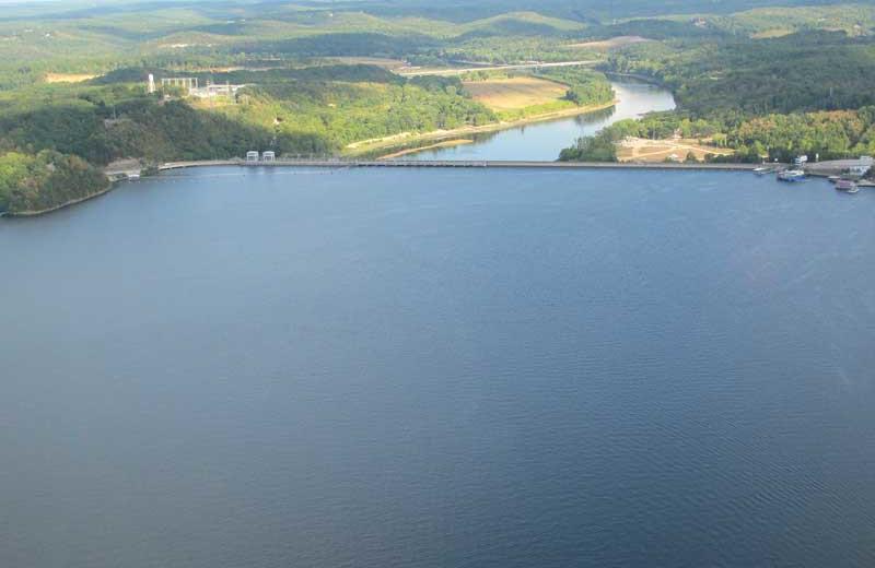 Lake at Point Randall Resort.