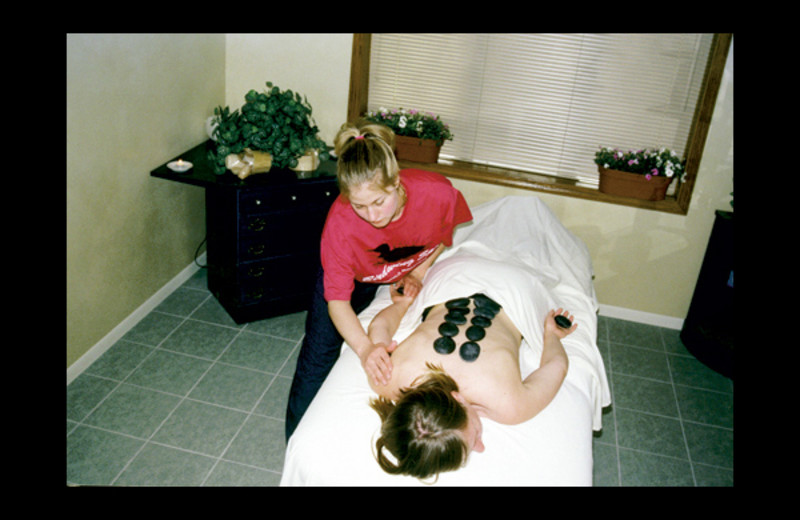 Spa massage at Birdwing Spa.