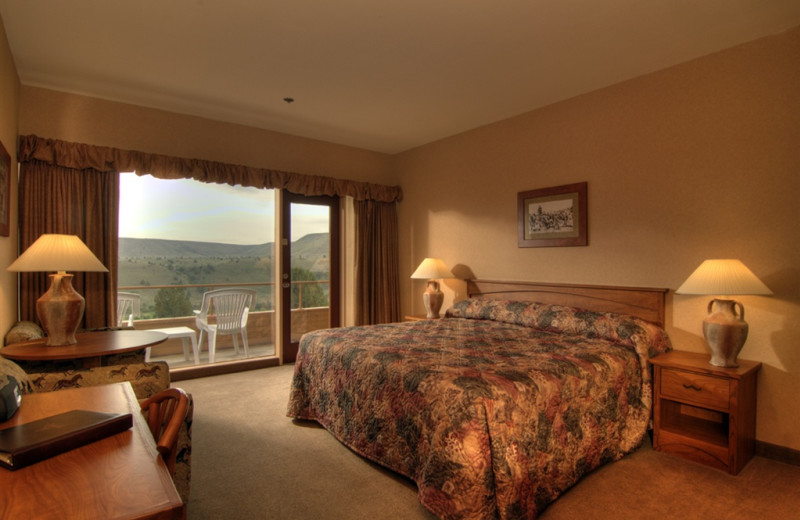Guest room at Kah-Nee-Ta Resort and Spa.